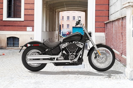 Harley Davidson Softail Right Side View