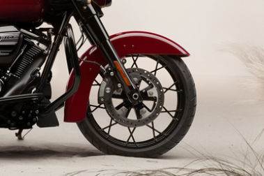 Harley Davidson Street Glide Special Front Tyre View
