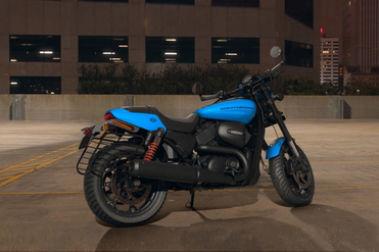 Harley Davidson Street Rod Rear Right View