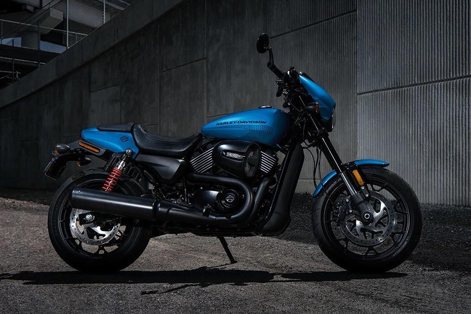 Harley Davidson Street Rod Right Side View