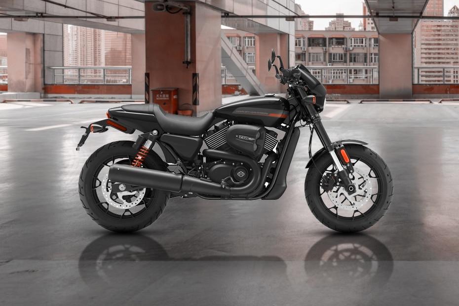 Harley Davidson Street Rod Rear View