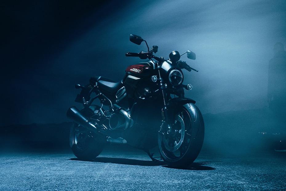 Harley Davidson Bronx Front View
