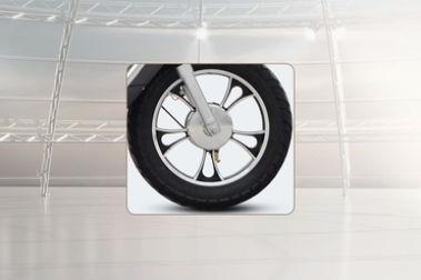 Hero Electric Flash LI Front Tyre View