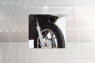 Hero Electric Flash LI Front Mudguard & Suspension