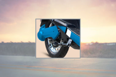 Hero Electric Optima HS500 ER Rear Tyre View