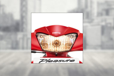 Hero Pleasure Head Light