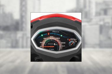 Hero Pleasure Speedometer