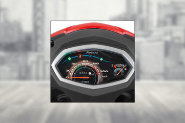 Hero Pleasure Speedometer
