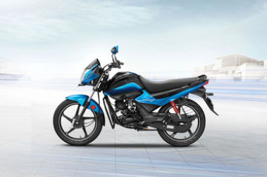 Hero Splendor iSmart BS4 Left Side View