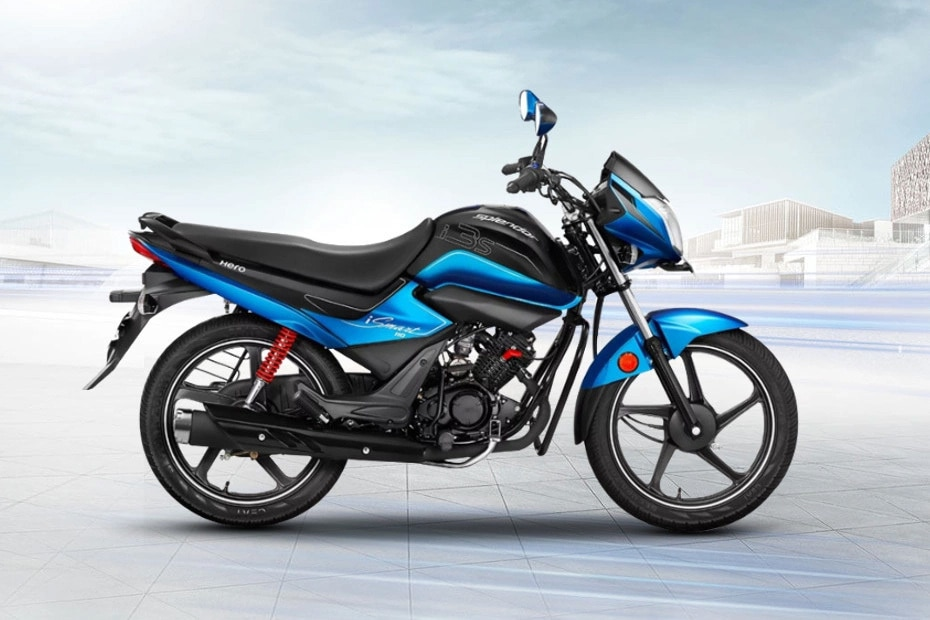Hero Splendor iSmart BS6 Right Side View