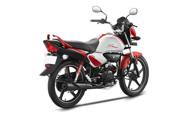 Hero Splendor iSmart right