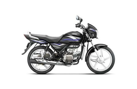Hero Splendor Pro Black Purple