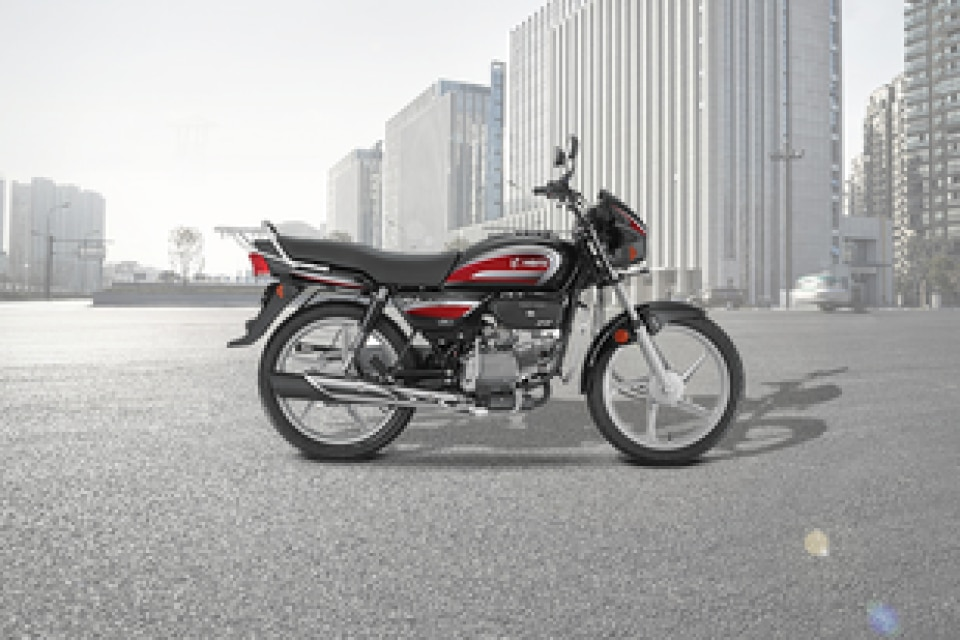 Hero Splendor Plus Right Side View