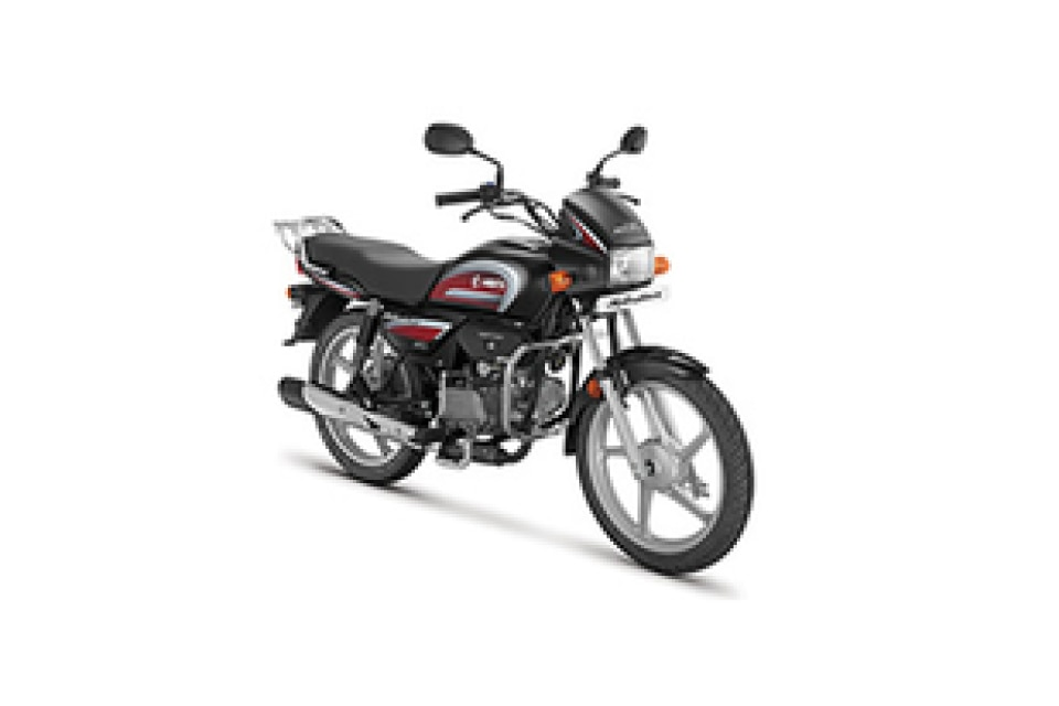 Hero Splendor Plus Black With Sport Red