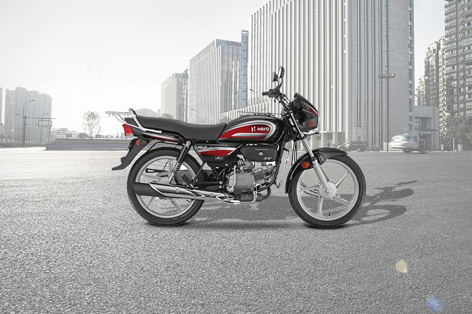 Hero Splendor Plus Kick with Alloy wheel BS6