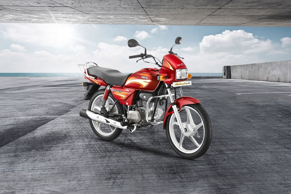 hero splendor plus i3s price images mileage specs