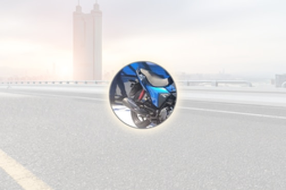 Hero Glamour Rear Tyre View