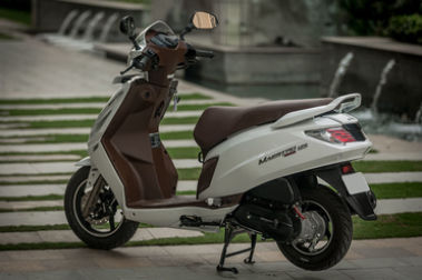Hero Maestro Edge 125 Rear Left View