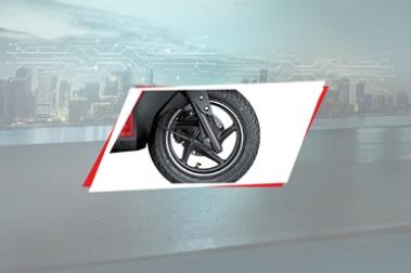 Hero Maestro Edge 125 Front Tyre View