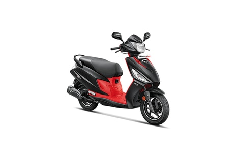 Hero Maestro Edge 125 Panther Black