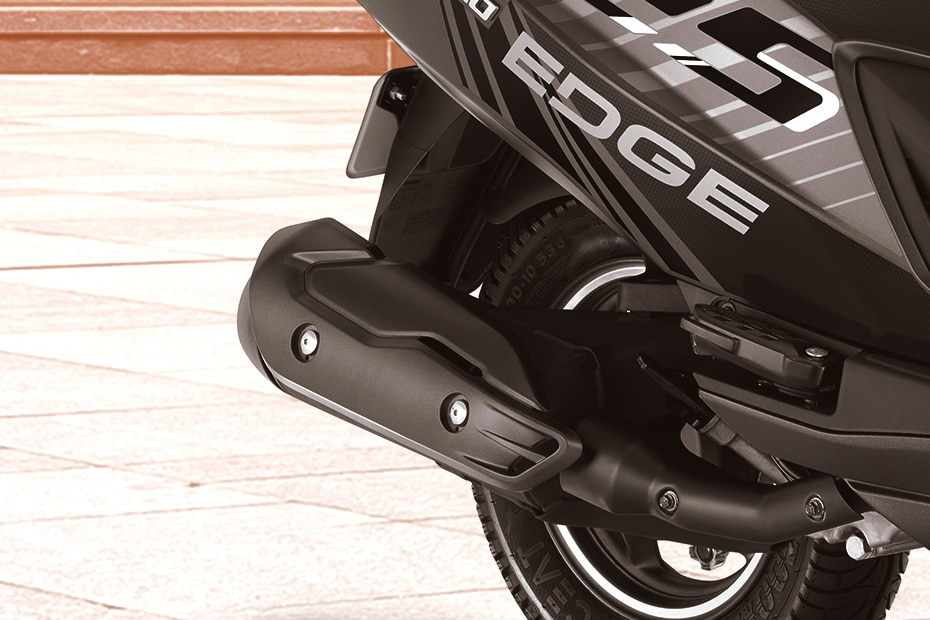 Hero Maestro Edge 125 Exhaust View