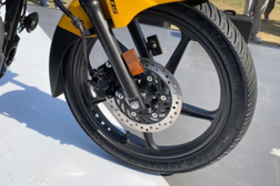 Hero Passion Pro 110  Front Tyre View