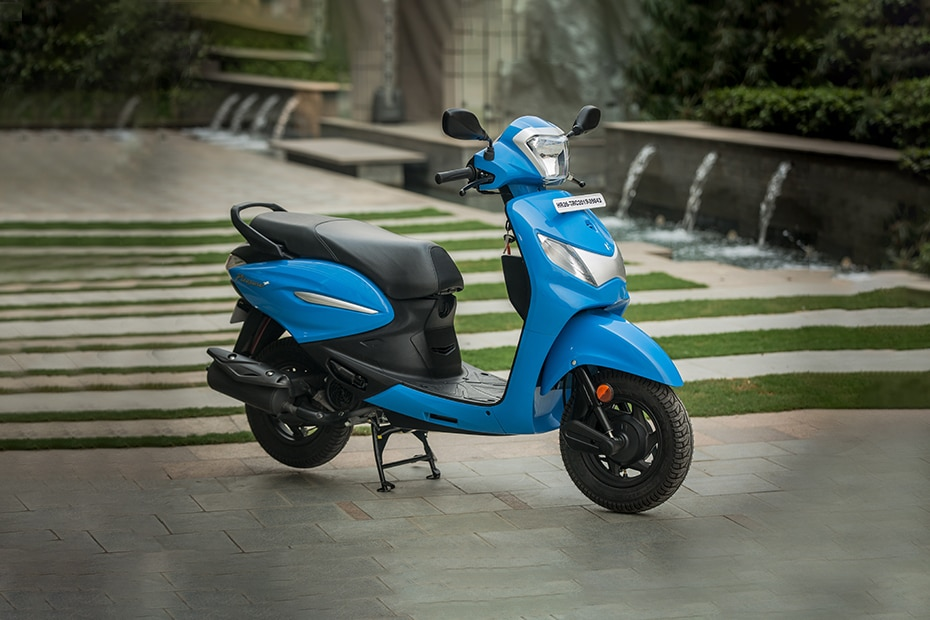 New Hero Pleasure Plus Price  Mileage  Images  Colours  Review