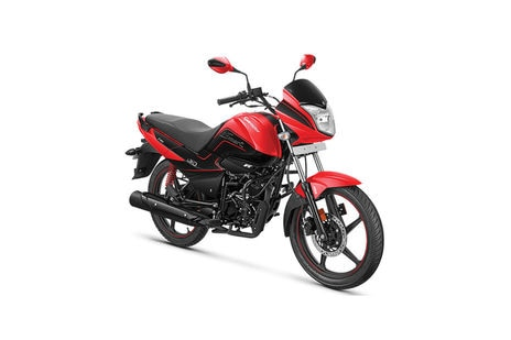 Hero Splendor iSmart Red