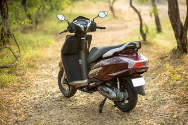 Honda Activa 125 Rear Left View
