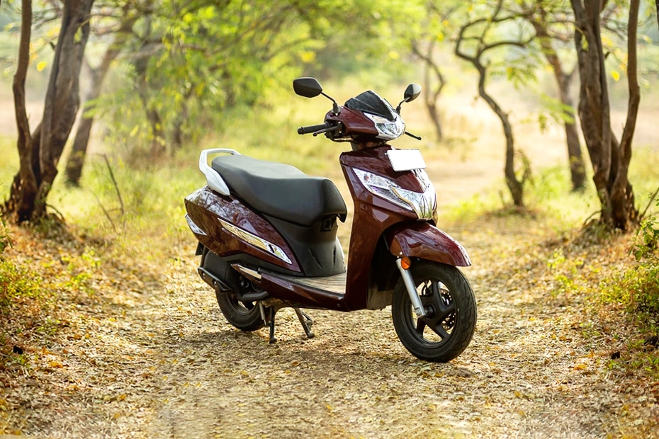 2019 Honda Activa 125 BS6 Right Side View
