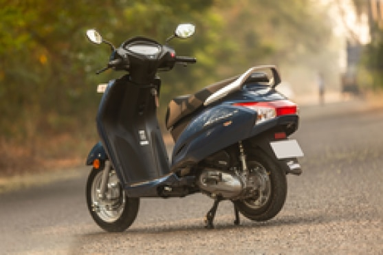 Honda Activa 6G Rear Left View