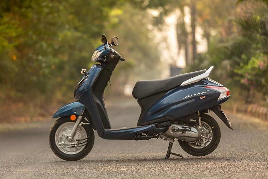Honda Activa 6G Left Side View