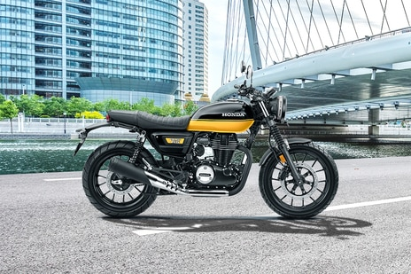 Honda CB350RS Dual Tone