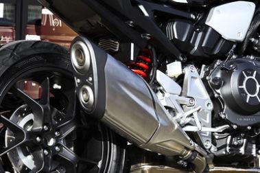 Honda CB1000R Plus Exhaust View