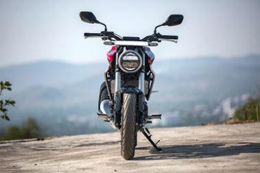 Honda CB300R Front View