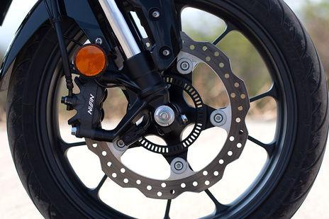 Honda CB300R Front Brake View