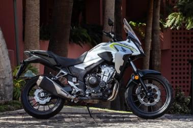 Honda CB500X Left Side View