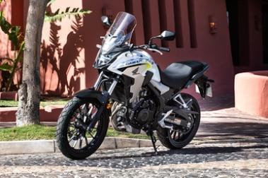 Honda CB500X Front Left View