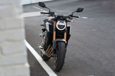 Honda CB650R Front View