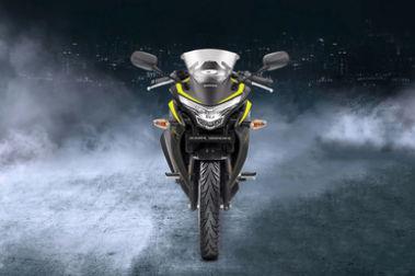 Honda CBR250R Front View