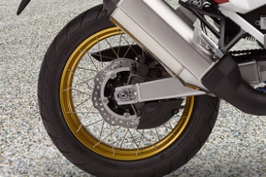 Honda CRF1100L Africa Twin Rear Tyre View