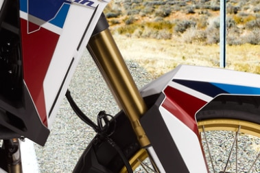 Honda CRF1100L Africa Twin Front Suspension View