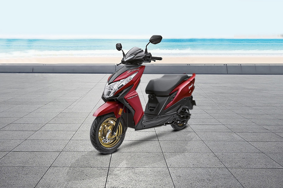 Honda Dio BS6 Front Left View