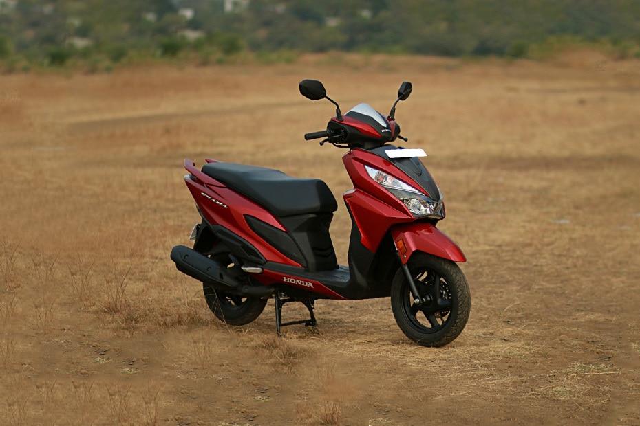 Honda Grazia Drum Alloy BS6