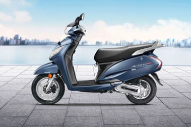 Honda Activa 125 BS4 Right Side View