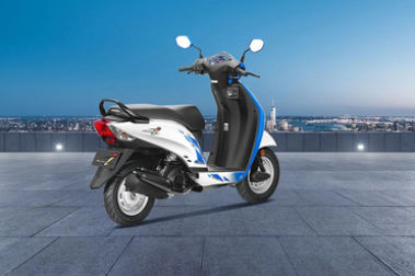 Honda Activa i Rear Right View