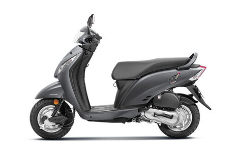 Honda Activa i Matte Axis Grey Metallic