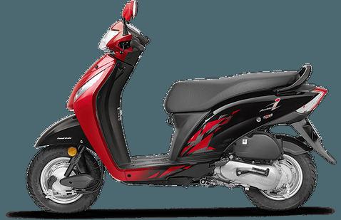 Honda Activa i Imperial-Red-Metallic