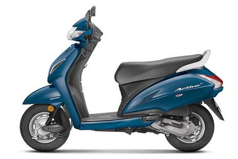 Honda Activa 5G Trance Blue Metallic