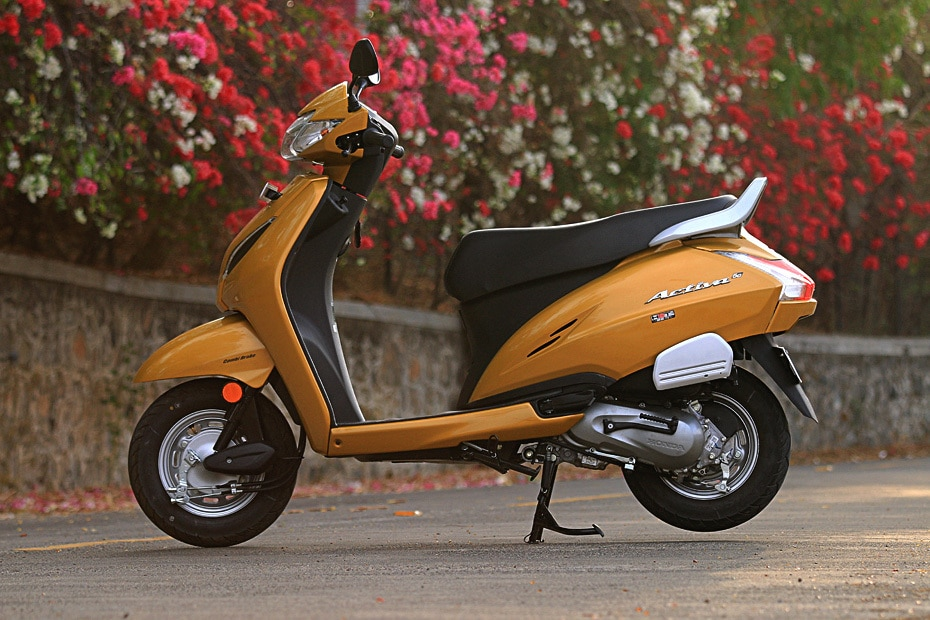 Honda Activa 5G Left Side View